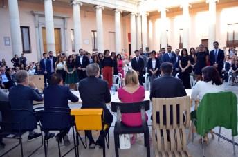 Los nuevos arquitectos acatan la Declaración de Toledo