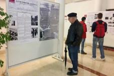 Las jornadas presentan también una exposición en la Facultad de Letras