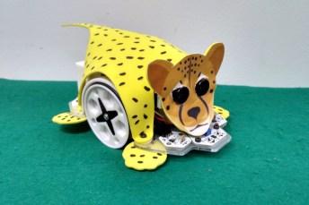 Imagen de uno de los robots que se utilizarán en el taller