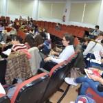 El seminario cuenta con cuarenta alumnos inscritos y otro público asistente