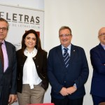 Alain Cuenca, María Jesús Ruiz, Juan José Rubio y Enrique Viaña