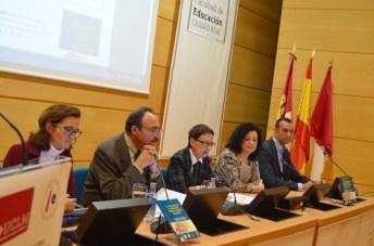 De izqd. a dcha: Rodríguez, Marquès, Irisarri, Nieto y Sumozas