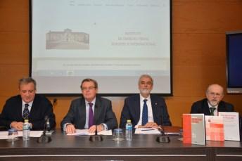 De izqda. dcha.: Juan José Rubio, Miguel Ángel Collado, Julio Luis Martínez y Luis Arroyo