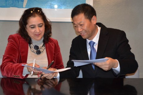 Acuerdo con la Zhejiang Yuxiu University of Foreign Languages