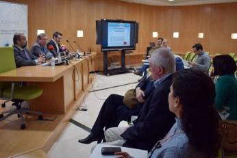 La comparecencia ha tenido lugar en la Escuela Internacional de Doctorado