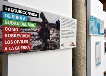 """Exposición """"Seguir con vida. De Siria a Sudán del Sur. Cómo sobreviven los civiles a la guerra"""""""