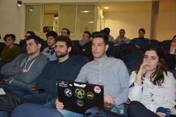 Alumnos participantes en la actividad