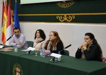 Alberto Sánchez Benavente y profesoras del Área de Marketing e Investigación de Mercados del Campus de Toledo