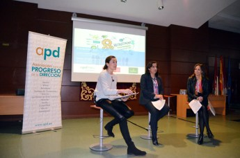 Juana López, Fátima Guadamillas y Ana López Casero