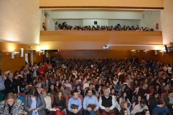 Un gran número de personas se interesó por la charla de César Bona