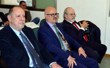 Gustavo de las Heras, Enrique Viaña y Luis Arroyo