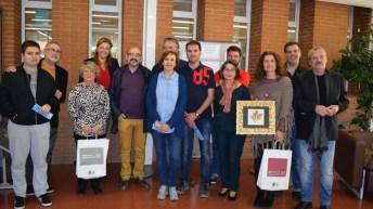 Premiados, representantes académicos y jurado del certamen