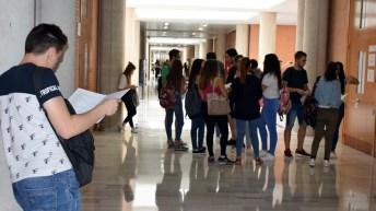 Comienza la EvAU en la UCLM (campus de Albacete)