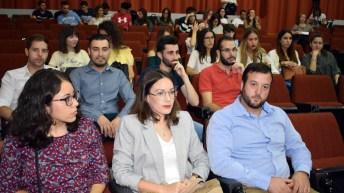 Desarrollo del acto de clausura e inauguración de la 21ª y 22ª ediciones del Máter en Entidades de Crédito