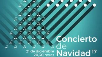 Fragmento del cartel del Concierto de Navidad en el Campus de Cuenca