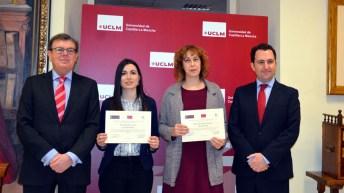 En el transcurso del acto se entregaron lo galardones del II Premio Colegio Notarial de Castilla-La Mancha para Trabajos de Fin de Grado de Derecho Privado