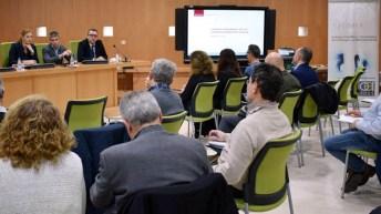 Reunión en el campus de Albacete
