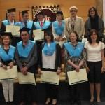 Graduación en el campus de Cuenca