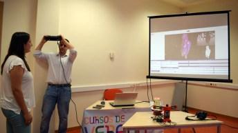 Taller impresión 3D © Gabinete de Comunicación UCLM
