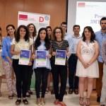 Premiados, finalistas, representantes académicos y jurado del certamen  © Gabinete de Comunicación UCLM