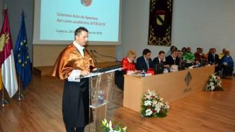 El Campus de Cuenca acogió el acto académico de apertura del curso académico 2018/2019 © Gabiete de Comunicación UCLM.