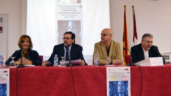 Inauguración del XII Congreso de la Sociedad Española de la Fenomenología. © Gabinete de Comunicación UCLM