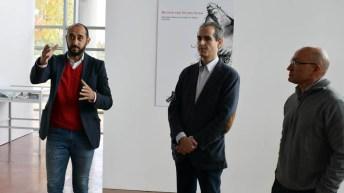 La exposición se puede contemplar en el edificio Benjamín Palencia © Gabinete de Comunicación UCLM