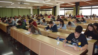 Desarrollo de las pruebas © Gabinete de Comunicación UCLM