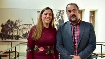 La visita de Sabio al Campus de Toledo se ha inscrito en la celebración institucional del Día de la Mujer y la Niña en la Ciencia. © Gabinete de Comunicación UCLM