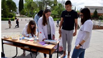 Desarrollo del Día Internacional de la Enfermería © Gabinete de Comunicación UCLM