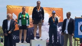 Lucía Alejo Molero se ha proclamado campeona de España universitaria de tiro con arco en la modalidad de compuesto