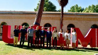 La firma tuvo lugar en el Campus de Toledo. © Gabinete de Comunicación UCLM