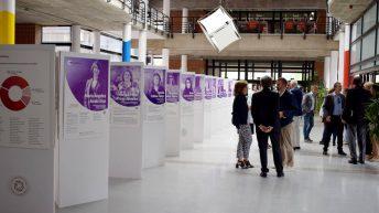 Acutalmente, la exposición se encuentra en el Campus de Albacete © Gabinete de Comunicación UCLM