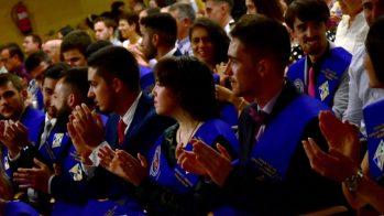Egresados de la promoción 2015-2019. © Gabinete de Comunicación UCLM