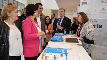 UCLM3E reúne a estudiantes y empresas de toda la región. © Gabinete de Comunicación UCLM