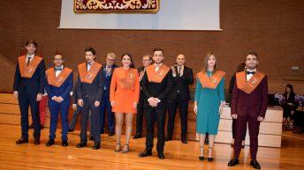 Desarrollo de la ceremonia de graduación © Gabinete de Comunicación UCLM