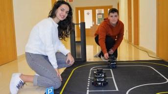 Uno de los robots que ha podido verse en la jornada. © Gabinete de Comunicación