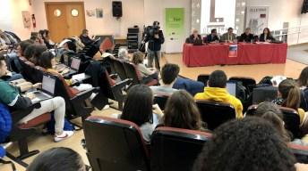 Un total de 150 alumnos participan en las jornadas © Gabinete de Comunicación UCLM