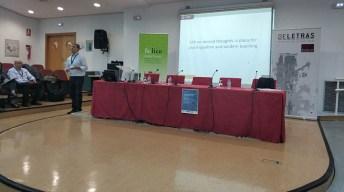 Las I Jornadas de Internacionalización se celebraron en la Facultad de Letras.
