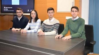 Ganadores de la fase local de la XII Liga de Debate Universitario de la UCLM (Papinianos, Ciudad Real)