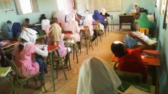 I Olimpiada Matemática en los campamentos de refugiados saharauis de Dajla.