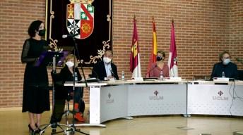 Acto de entrega del III Premio del Aula de Igualdad y Género Lola Martínez © Gabinete de Comunicación UCLM