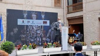 Inauguración de la exposición conmemorativa del VI Centenario de Ciudad Real como 'ciudad'. © Gabinete de Comunicación UCLM
