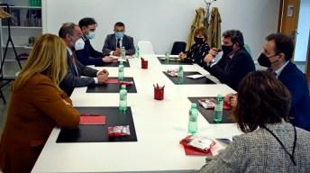 Visita del ministro a la UCLM. © Gabinete de Comunicación UCLM