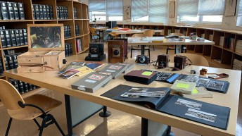 Las imágenes pertenecen a los fondos de Publicidad Salas, en depósito en el Centro de Estudios © Gabinete de Comunicación UCLM