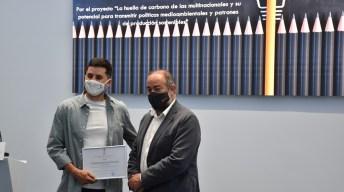 Premiados y representantes académicos e institucionales © Ayuntamiento de Albacete