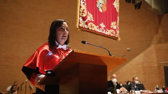 Acto de apertura del curso académico 2021-2022 en la UCLM. © Luis Vizcaino/foto@lamanchapress.com