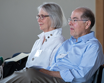 Donations from Mammoth Lakes residents Kate and Paul Page were instrumental in enabling construction of the center. Image credit: Susan Morning