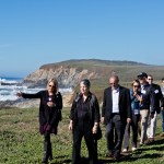 UC President tours Bodega Marine Lab and Reserve