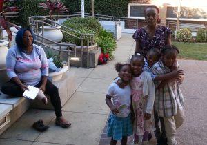 moms and children